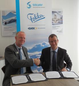 Solvay and GKN partner in thermoplastics