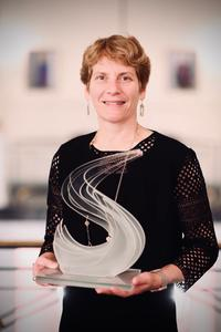 Carolyn Bertozzi, winner of the 2020 Solvay Prize, Brussels